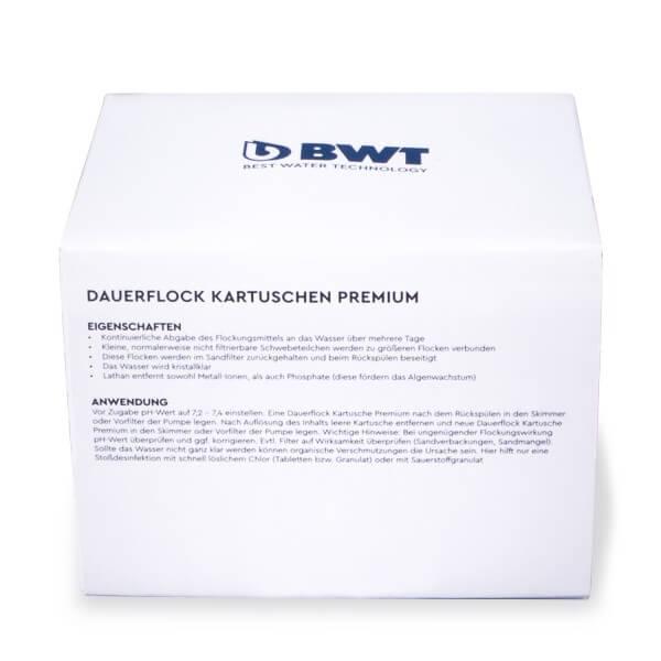 BWT - Dauerflock Kartusche Premium - Anwendung