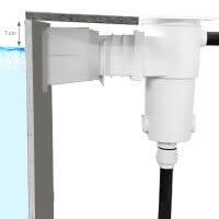 Styroporpool High Level Skimmer SL119-M-MR grau