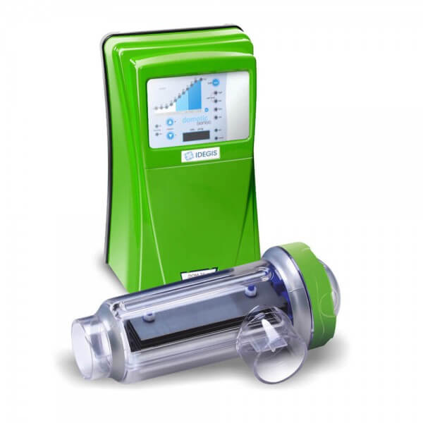 Salzelektrolyseanlage DOMOTIC LOW SALT 12G, verschiedene Ausführungen, 50 m³