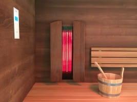 Premium-Infrarotset für Sauna (1 Person)