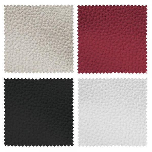 Infrarotkabine mit rotem Leder oder Weiß, Schwarz und Beige
