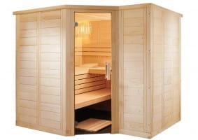 Sauna Polaris Large, 206x234x204 cm, 3 Personen