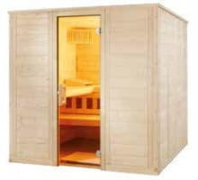 Sauna Wellfun Large, 205x206x204 cm, 3 Personen