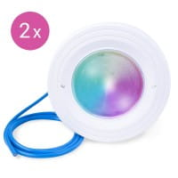 BWT Poolscheinwerfer 2er Set, Power-LED, RGB, 12 V