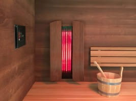 Infrarot-Set für die Sauna mit dimmbarer Steuerung Basic