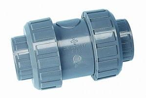 PVC Rückschlagventil, 63 mm