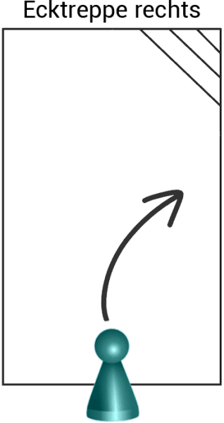 Styroporpool PREMIUM-Set graublau, 750 x 300 x 150 cm, mit AQUASTEP Ecktreppe rechts