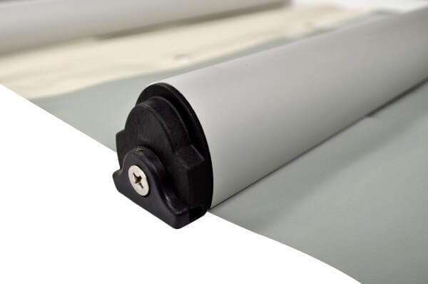 Stangenabdeckung P-580 für 900 x 400 cm, inkl. Handkurbel