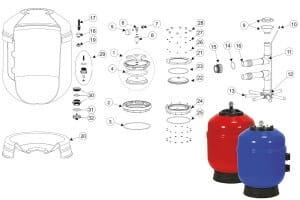 O-Ring für Kragen für Filterkessel Europa (4404020116)