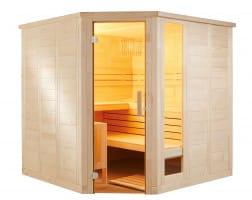 Sauna Komfort Corner, 206x206x204 cm, 3 Personen