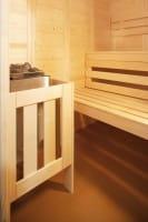 Sauna Wellfun Mini, 145x145x204 cm, 3 Personen