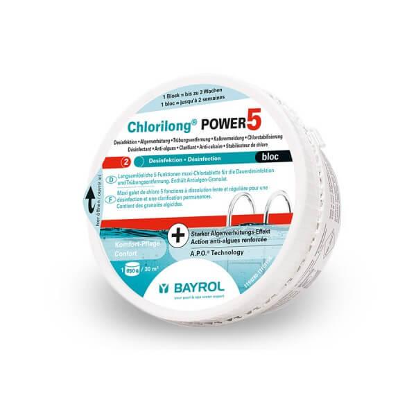 Bayrol Chlorilong-Power5 Bloc 0,65 kg - vormals Multibloc