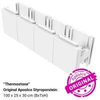 Thermostone Styropor Stein für Styropor Pools by Apoolco