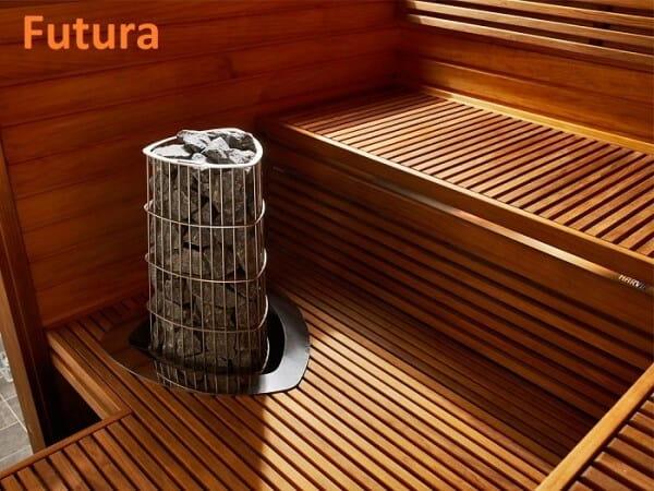 Sauna Rubic S2121RC, 210x210x203 cm, 2 Personen