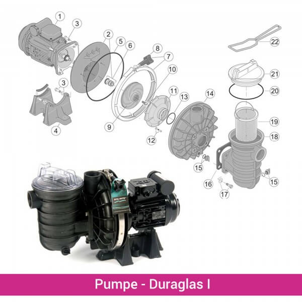O-Ring für Deckel Duraglas I (5P2R) (RU9229) - Skizze