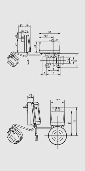 Praher Evolution Solarsteuerung SC01 mit 2 Wege Kugelventil
