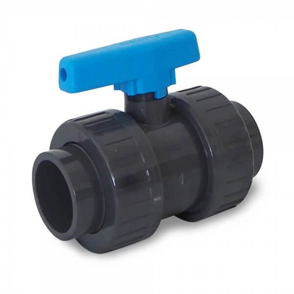 PVC Kugelventil, 50 mm