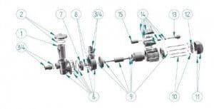 Sieb für Vorfilter myPool 330-360 - Lagersale