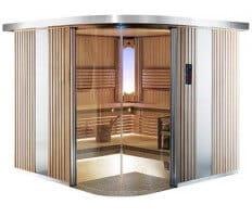Sauna Rondium S2222KL, 220x220x203 cm, 2 Personen