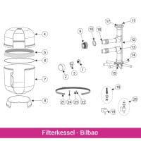 Entleerung komplett für Filterkessel Bilbao (4404070105)