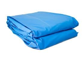 Poolfolie rund, 360 x 110-120 cm, 0,60mm, überlappend, blau