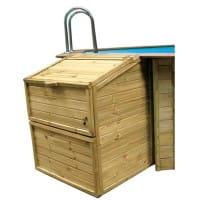 Filterkasten für Holzpools von GRE, 120 cm Höhe