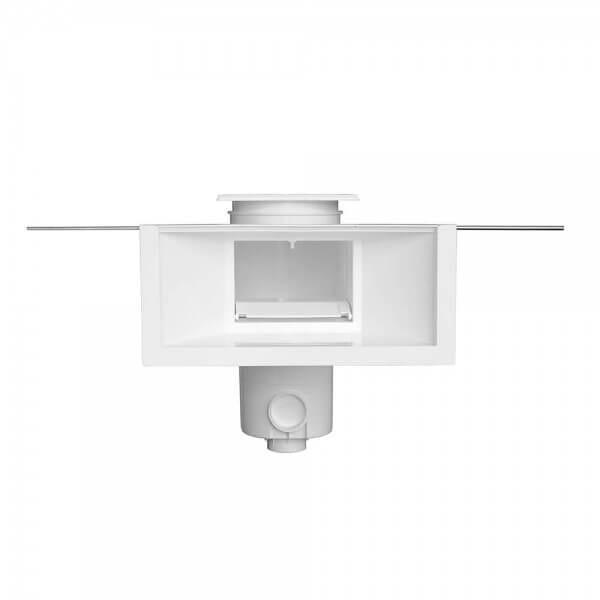 Styroporpool High Level Skimmer SL119-M-MR graublau