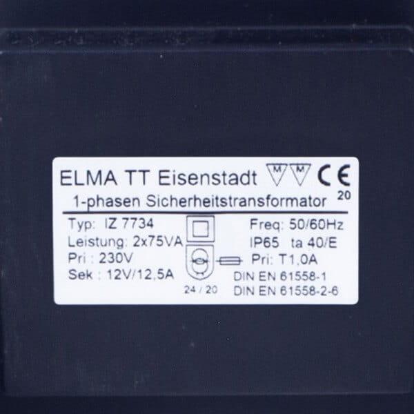 BWT Poolscheinwerfer 2er SET, Power-LED, weiß, 12 V - Trafo 2 x 75 VA