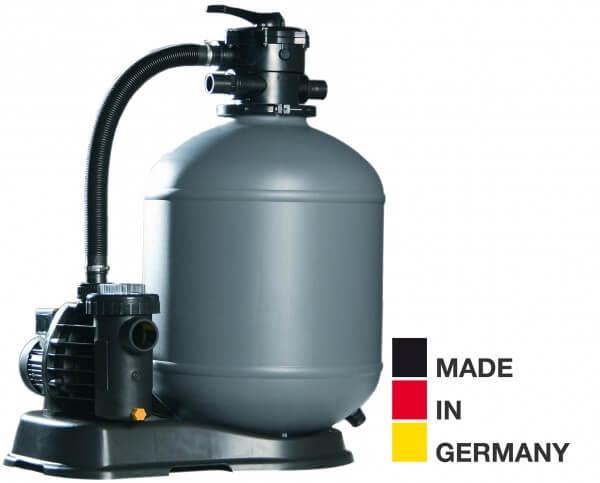 Sandfilteranlage HP 39/A6, Ø 390mm, Aqua Plus 6 m³/h, bis 30m³