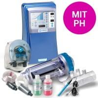 Salzelektrolyseanlage DOMOTIC 32G, mit pH, 120 m³