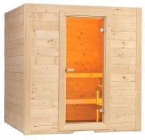 Sauna Basic Medium, 156x195x204 cm, 2 Personen