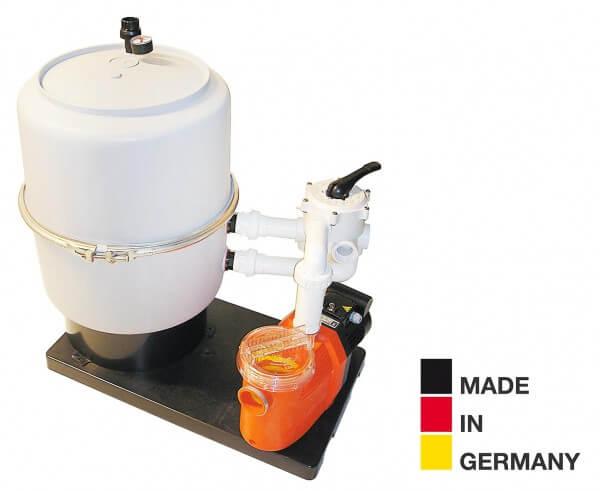 Sandfilteranlage Prime AP400, Ø 400mm, 8m³/h, bis 40 m³
