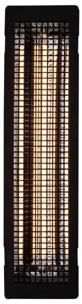 Vollspektrum-Infrarotstrahler ECO 350 - Gitter schwarz beflockt
