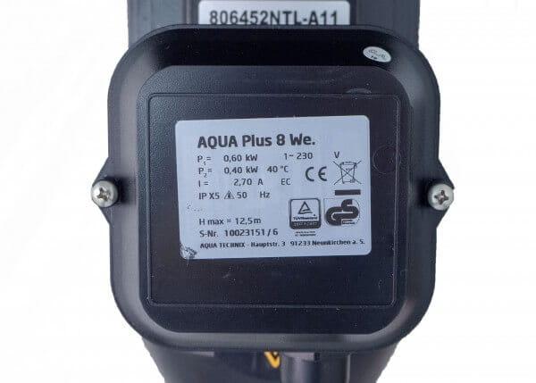 Poolpumpe AquaPlus 8, 230 V