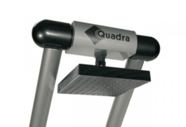 Duschkopf für Solardusche Quadra, 150 x 150 mm