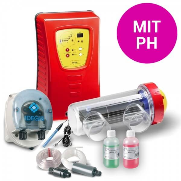 Salzelektrolyseanlage TECNO 30G, mit pH, 120 m³