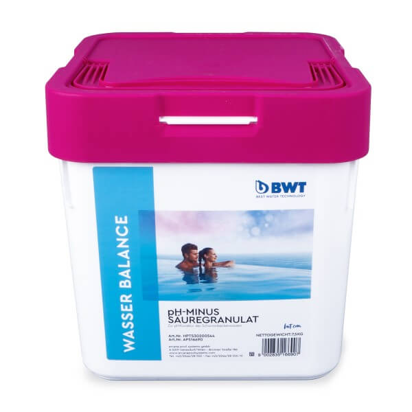 BWT - pH-Minus, Säuregranulat
