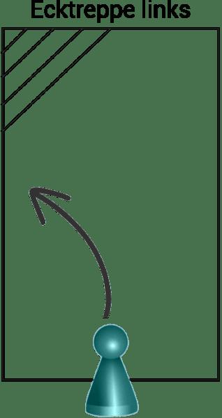 Styroporpool, 800 x 350 x 150 cm, Basis-Bausatz mit Ecktreppe links