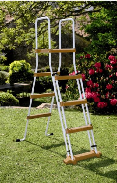 Rundpool Feeling, Ø550 x 132 cm, Holzoptik, Komplettset