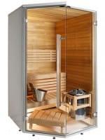 Sauna Sirius Line SC1111K, 113x114x208 cm, 2 Personen