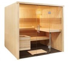 Sauna Panorama Large, 214x210x201 cm, 3 Personen