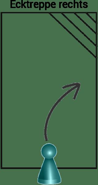 Styroporpool, 800 x 400 x 150 cm, Basis-Bausatz mit Ecktreppe rechts