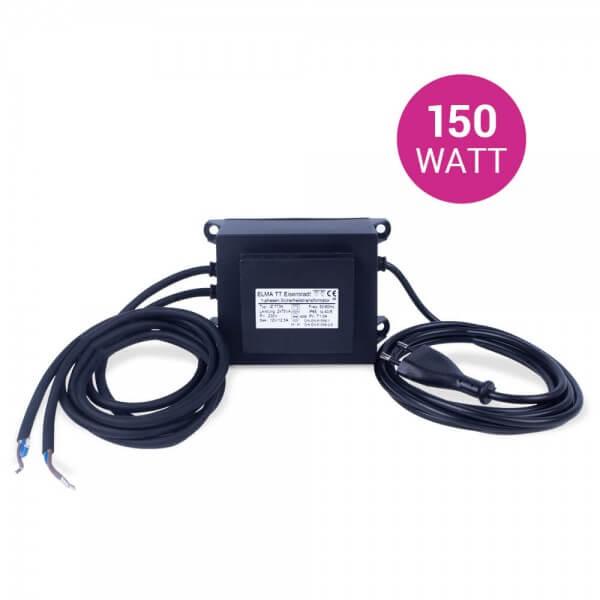 Sicherheitsschutztrafo 12V, 150 W, für LED