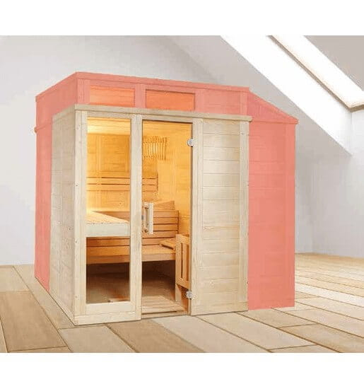 Sauna nach Maß, Style, Massivsauna