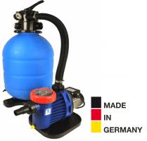 Sandfilteranlage ProAqua 500 mit SPECK Pumpe, Ø 500mm, Pumpe 10m³/h, bis 50m³