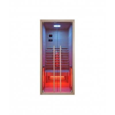 Infrarotkabine Ruby 1, 90 x 100 x 195 cm, 1 Person