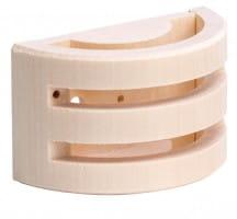 Holzgehäuse für Temperaturfühler F1 und F2 hell