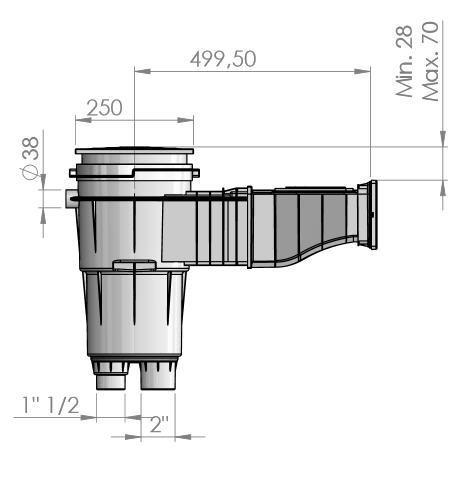 Astral Skimmer SLIM 500 KS (56176)