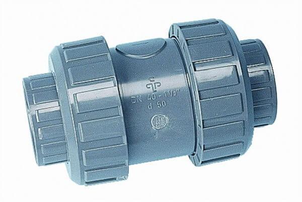 PVC Rückschlagventil, 50 mm, Typ S4