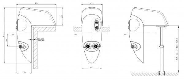 Einhänge-Gegenstromanlage Badu Jet stella 400 Volt